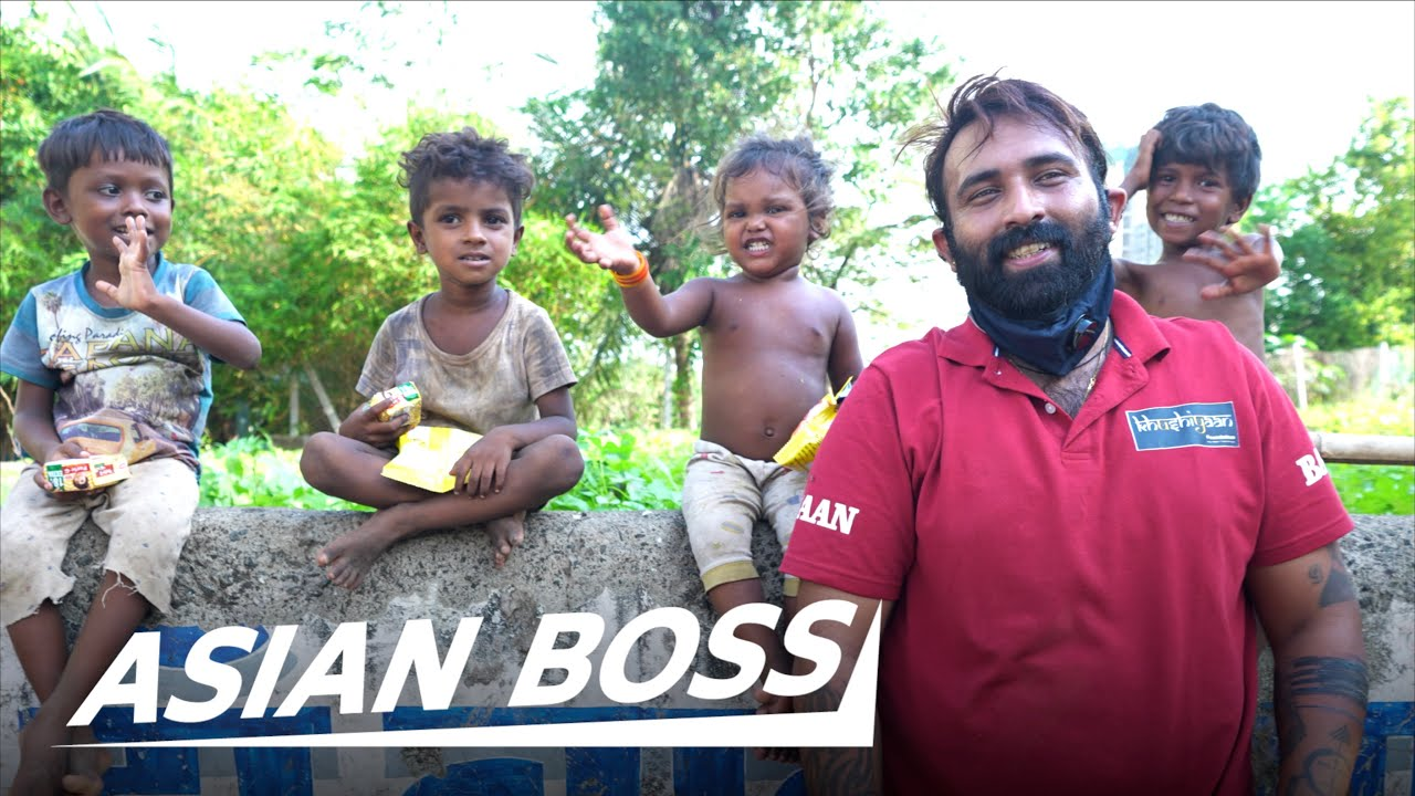 This Man Provided Over 1.4 Million Meals to Starving Kids in India | EVERYDAY BOSSES
