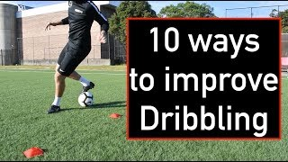 10 ways to improve dribbling‼️⚽️ Can you do them all? | Joner 1on1 Football Training
