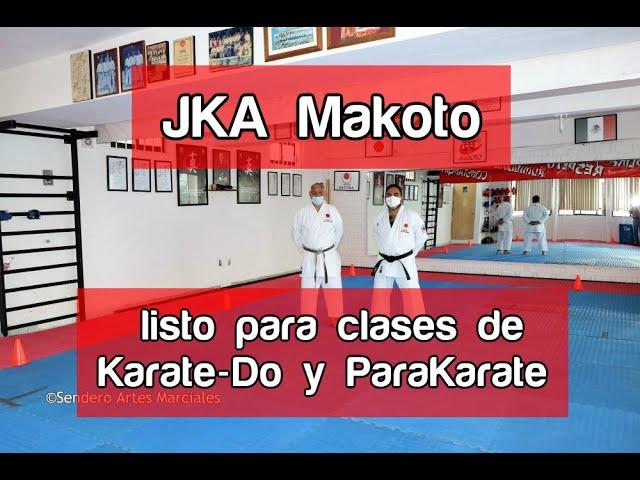 JKA Makoto listo para regresar a clases de Karate-Do y ParaKarate