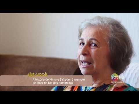 A história de Mirna e Salvador é exemplo de amor no Dia dos Namorados