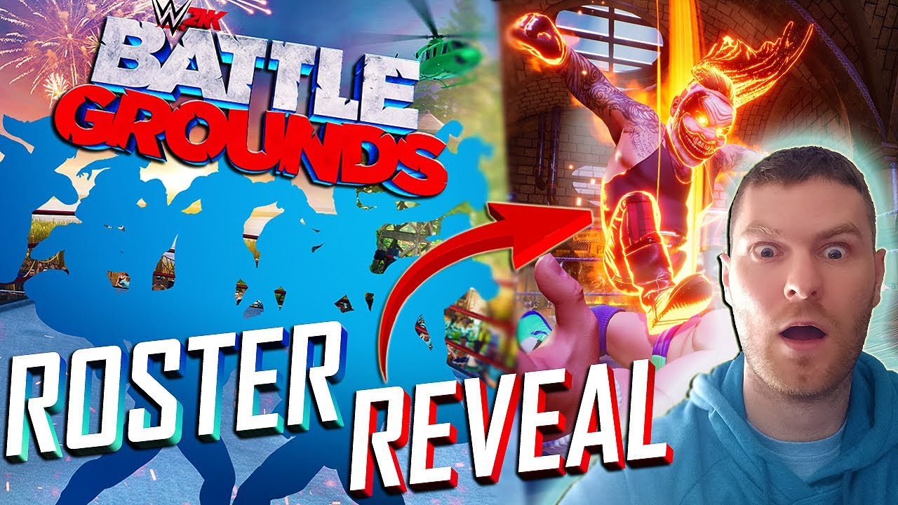 NEW WWE GAME!! WWE 2K BATTLEGROUNDS ROSTER REVEAL AND FULL DETAILS!!