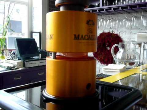 Macallan Japanese Ice Ball Maker Youtube