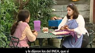 Oportunidades para aprender a leer y escribir con el INEA