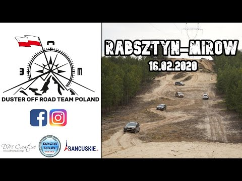 Duster Off Road Team Poland - Rabsztyn Mirów - 16.02.2020