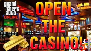 GTA 5 Online - A Letter To ROCKSTAR - Open The CASINO With ILL GOTTEN GAINS DLC!(GTA 5 Online Casino Opening Soon? Do You Want The GTA 5 Casino Open? Let The WOLF Know! Enjoy GTA V Gameplay and For For More GTA 5 Videos ..., 2015-06-09T19:16:17.000Z)