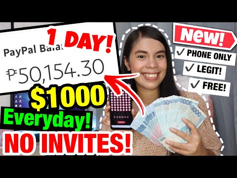 Get Free $1000 Everyday by Playing This Game Using Phone only! NO INVITES! LEGIT!