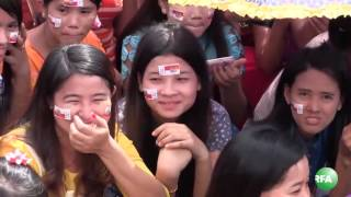 Rakhine ANP Party Campaigns in Yangon