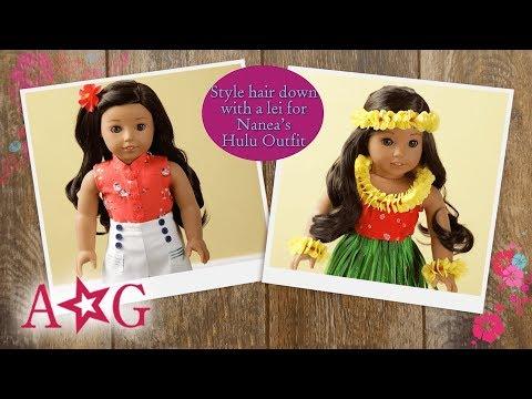 Nanea's Hairstyles | Doll Hairstyles | American Girl