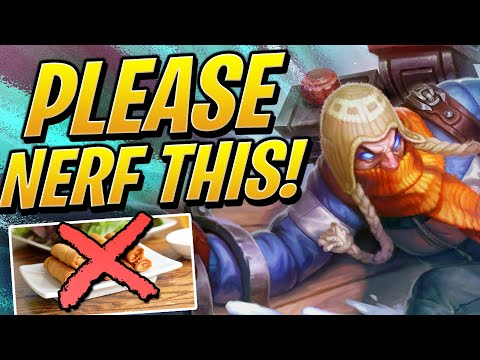 RIOT PLEASE NERF THIS! | Teamfight Tactics Set 2 | TFT | League Of Legends Auto Chess