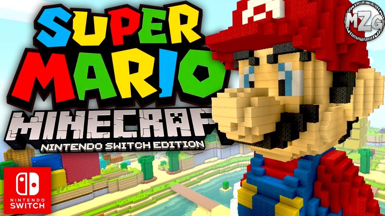 Best Version of Minecraft!? Super Mario Pack! - Minecraft Nintendo Switch  Gameplay