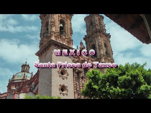 Mexico - Church of Santa Prisca,Taxco -Trip in Central and North America ep46-Travel vlog calatorii