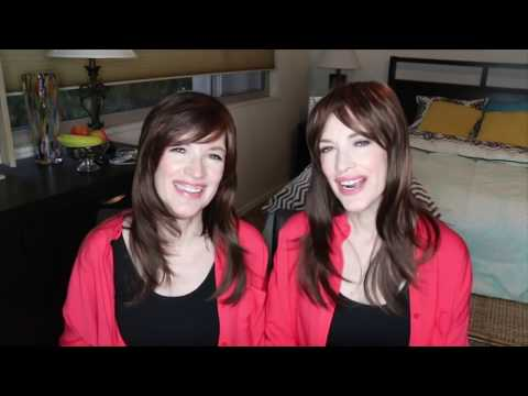 The Psychic Twins lying for 10 minutes straight