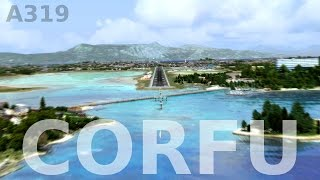 [FSX] CORFU APPROACH & LANDING (NEW SCENERY!!)(Approaching FlyTampa's new masterpiece