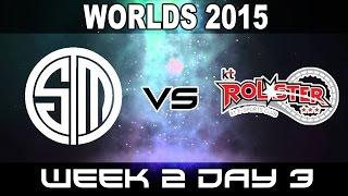 TSM vs KT - 2015 World Championship Week 2 Day 3 - Team Solo Mid vs KT Rolster