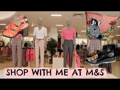 COME SHOPPING WITH ME AT M&S   WHAT'S NEW IN SPRING FASHION & HOME WEAR   KERRY WHELPDALE