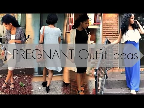 Download Youtube: PREGNANT Outfit Ideas  |  IF YOU DON'T LIKE MATERNITY CLOTHES