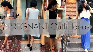 PREGNANT Outfit Ideas | IF YOU DON T LIKE MATERNITY CLOTHES