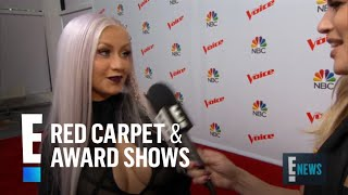 "Christina Aguilera on Breaking ""The Voice"" Girl Curse 