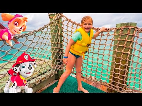 PAW PATROL Nickelodeon Assistant Ocean Hunt for Chase + Rubble on Castaway Cay