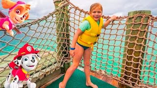 The Assistant's Paw Patrol Ocean Hunt for Chase and Rubble on Castaway Cay thumbnail