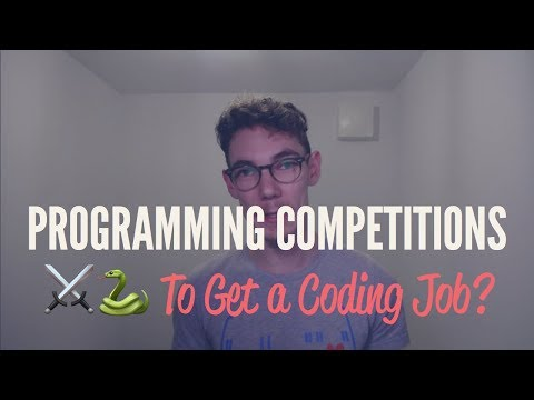 Programming Contests: Necessary to Get a Coding Job?