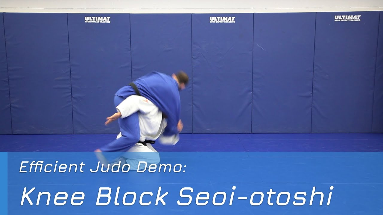 Knee Block Seoi-otoshi