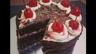 No-bake Black Forest Cake