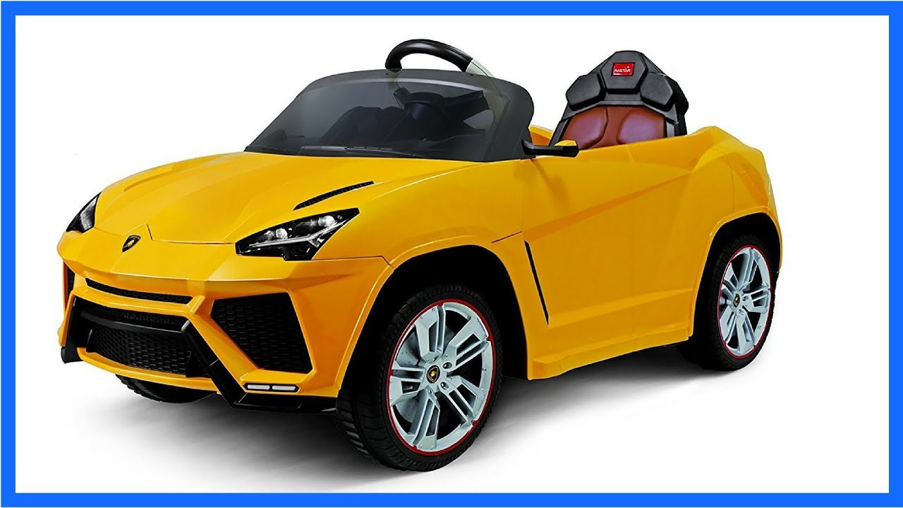 Nice 2017 LAMBORGHINI URUS 12V Kids Ride On Battery Powered Wheels Car, RC