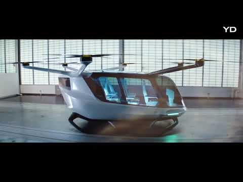 The future of taxis is airborne… and emission-free.