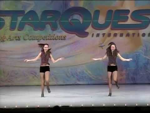 Sisters In Sync - Melissa and Brittany Bastidas Acapella Tap Duet March 2010 High Score Teen Duo