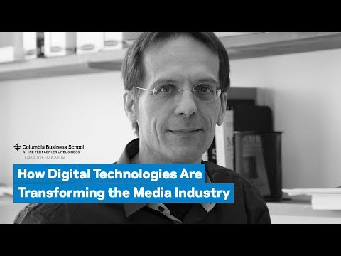 How Digital Technologies Are Transforming the Media Industry