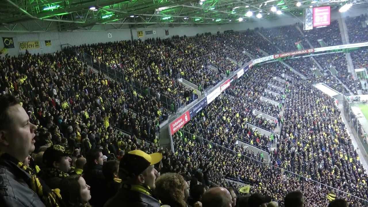 Gladbach vs Dortmund 1-1 Stimmung vor dem Spiel Mönchengladbach - Borussia Dortmund schwatzgelb.de
