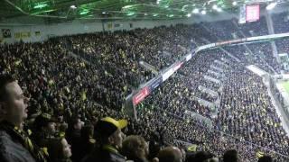 Gladbach vs BVB 1-1 Stimmung vor dem Spiel Mönchengladbach - Borussia Dortmund schwatzgelbdevideo