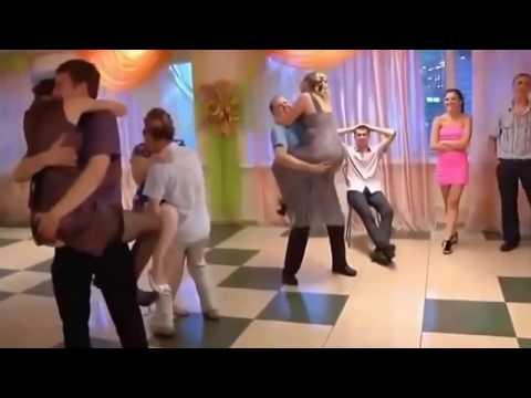 Приколы и конкурсы на свадьбах - смотреть ютуб видео