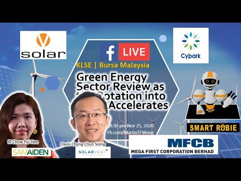 KLSE Bursa Malaysia, Green Energy (Renewable, Solar PV) Sector Review w/ Value Accelerates into It..