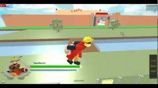 Roblox-Naruto Shippuden Ultimate Ninja Storm Generations Gameplay