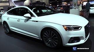 2018 Audi A5 Sportback - Exterior and Interior Walkaround - 2017 LA Auto Show