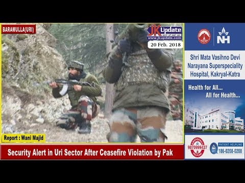 Security Alert in Uri Sector After Ceasefire Violation by Pak