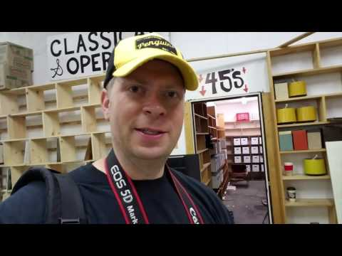 Classic Game Room visits JERRY'S RECORDS in Pittsburgh