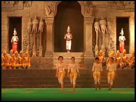 Cambodian cultural Village Jayavarman 7 Show Siem reap