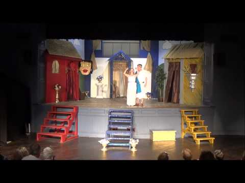 """""""A Funny Thing Happened On The Way To The Forum""""  Act I - Guyer Opera House July 2014"""