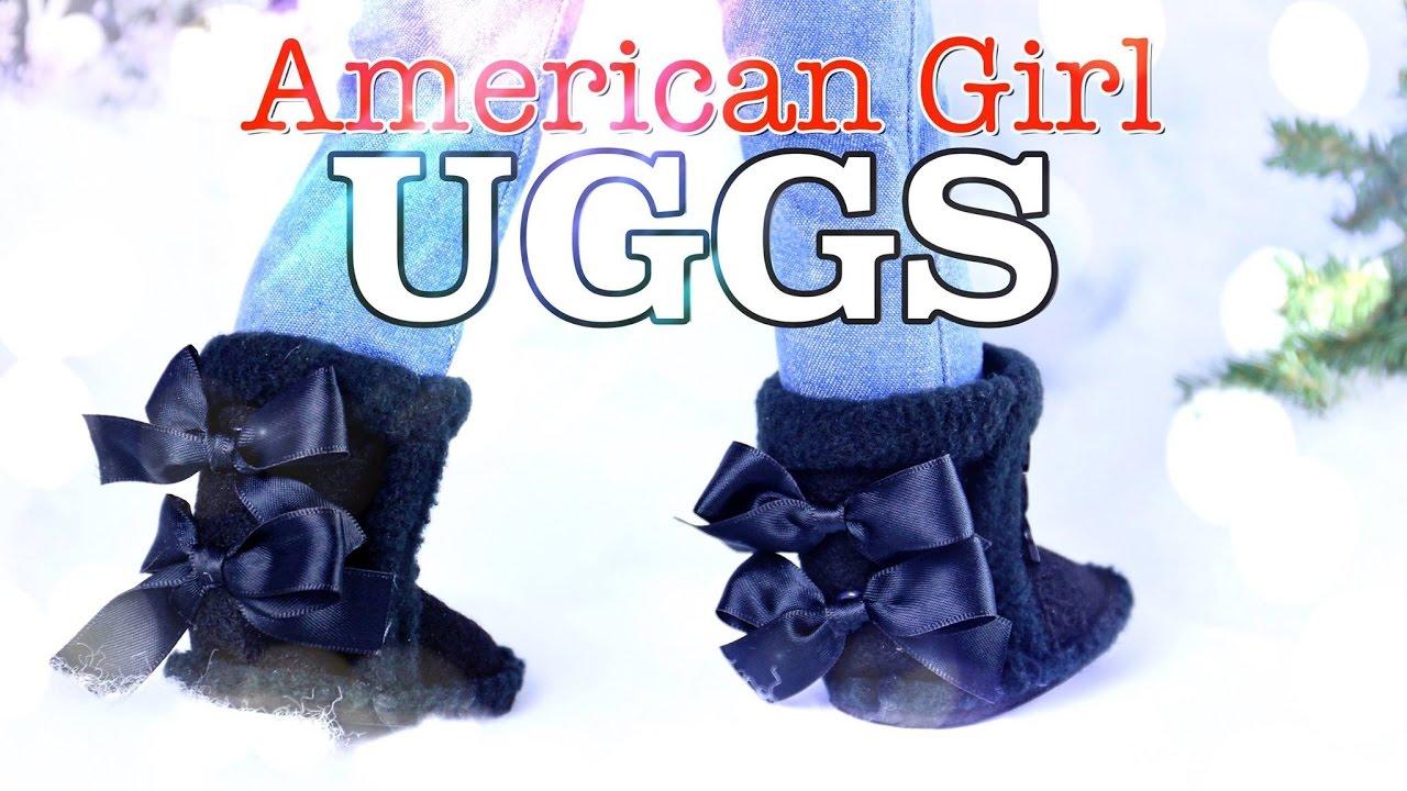 Diy How To Make American Girl Ugg Boots Holiday Gift