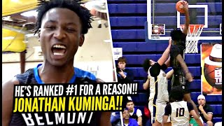 The #1 Ranked Junior In America Is a PROBLEM!! Jonathan Kuminga OFFICIAL MIXTAPE!!