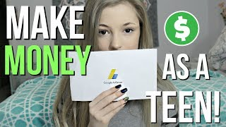 How I Make Money as a 13 Year Old! Adsense 101!