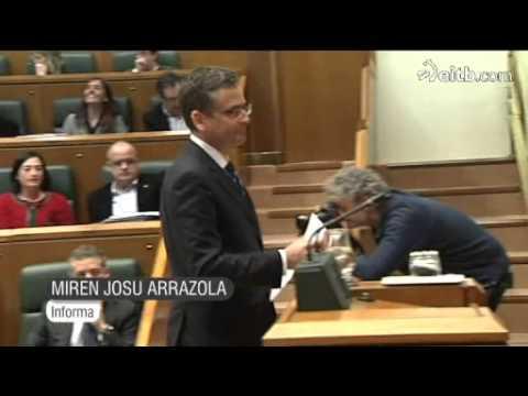 Urkullu: 'Este Parlamento nunca va a legitimar a ETA'