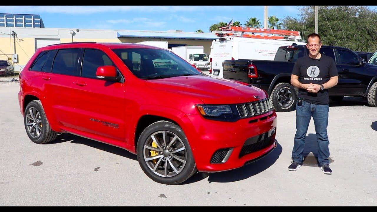 Why Buy The 2019 Jeep Grand Cherokee Trackhawk Suv Insanity Youtube