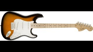 Squier Affinity Stratocaster Sunburst Review