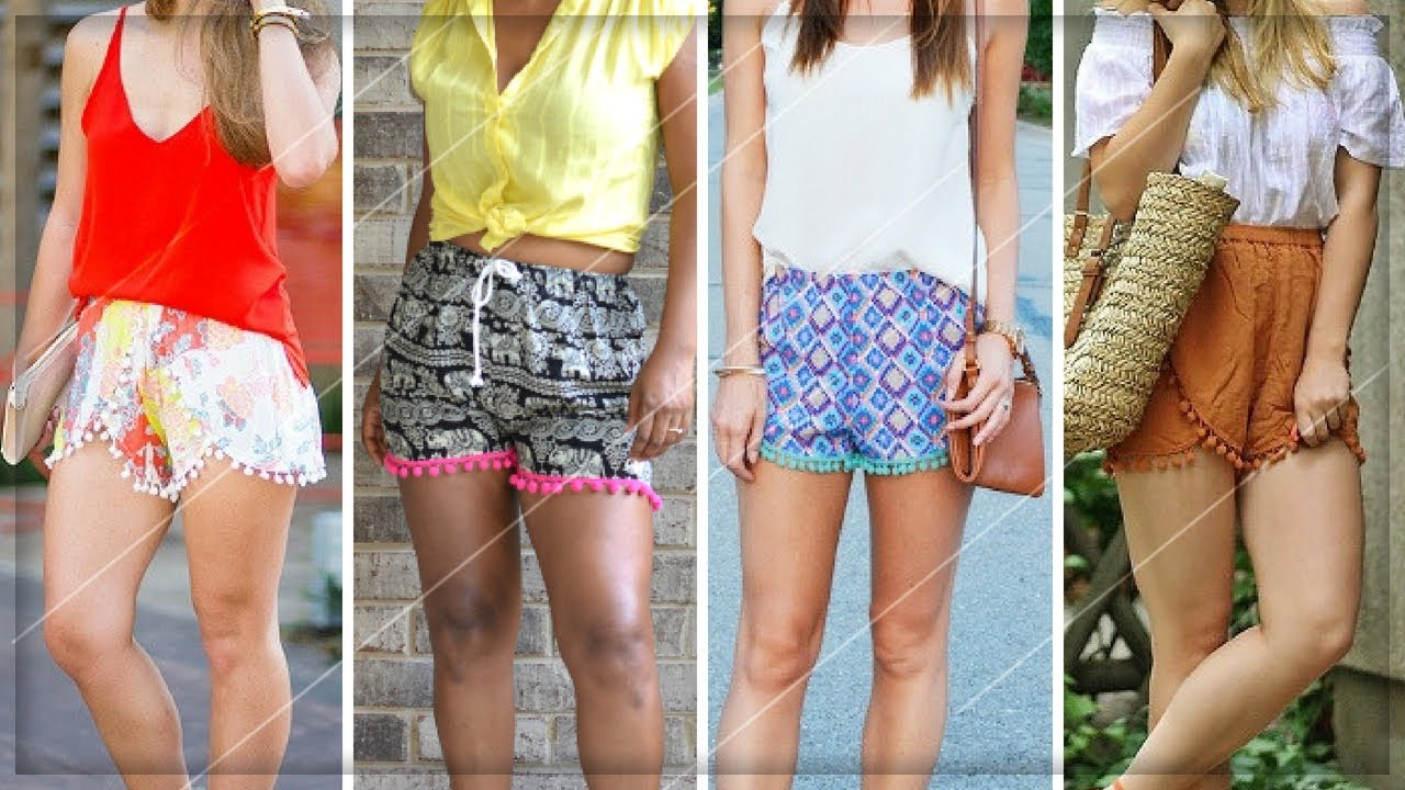 [VIDEO] - CUTE SUMMER OUTFITS WITH POM POM SHORTS 2