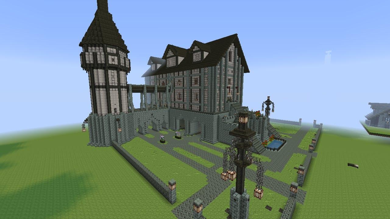 Minecraft Medieval Palace Tour Part 33 Season 2