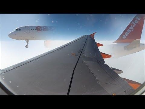 EasyJet A320 Edinburgh-Tenerife South G-EZWG *Full Flight* HD